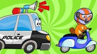 Мультики про машинки - Трактор, Монстр Трак, Эвакуатор - Развивающие мультики для детей