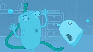 HYDRO и FLUID | подводная борьба | Мультфильмы для детей | WildBrain Cartoons | WildBrain