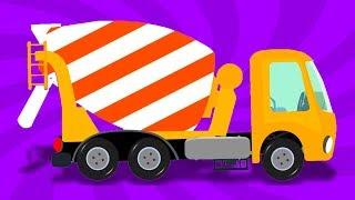 Бетономешалка | русский мультфильмы для детей | Cement Mixer Truck | Umi Uzi Russia