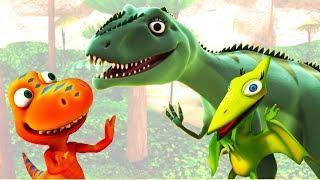 Мультфильм Поезд Динозавров - Лаура Гигантозавр