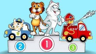 Развивающее видео для детей Учим Цвета, Учим Животных, Детские Песни Мультфильмы для самых маленьких