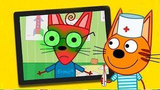 Три кота новая игра для детей! Развивающие игровые мультфильмы для самых маленьких детей 2018