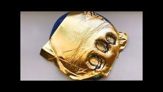Как сделать слайм с золотой фольгой как в Инстаграме?// DIY gold leaf slime