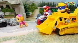 Щенячий Патруль - Супер Щенки отправляются помогать друзьям. Мультики для детей прямой эфир.