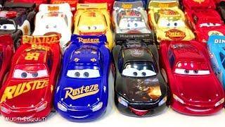 Машинки Маквин Тачки 3 Игрушки Дисней Распаковка Много Машинок Мультики про Машинки