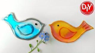 Как сделать декоративных птичек из эпоксидной смолы своими руками
