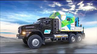 Газовый «Урал Next» принимает участие в автопробеге «Газ в моторы»