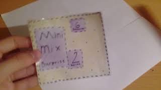 Мастер-класс как сделать Mini mix surprise 1 часть