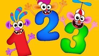 Супер Цифры для детей! Счет! Цифры для малышей. Развивающие мультфильмы