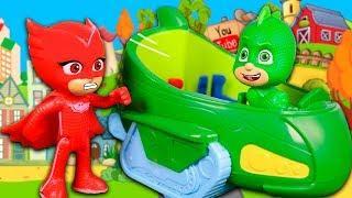 Герои в масках все серии мультики с игрушками для детей. Мультфильмы про куклы Лол для девочек