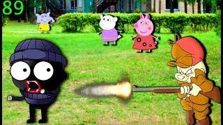 Мультики Свинка Пеппа на русском peppa 89 ВОР В ЛАГЕРЕ Мультфильмы для детей свинка пеппа