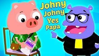 Джонни Джонни Да Папа | Johny Johny Yes Papa | Preschool Russia | русский мультфильмы для детей