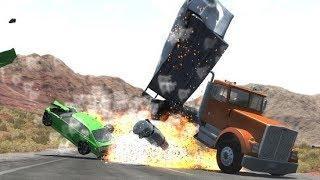 Мультфильмы про Машинки | Аварии Погони для Детей | Новые Мультики | Игра BeamNG.drive |#4