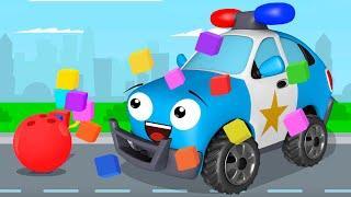 Полиция Мультики про Машинки в Городе Новые Мультфильмы Сборник Все серии для детей