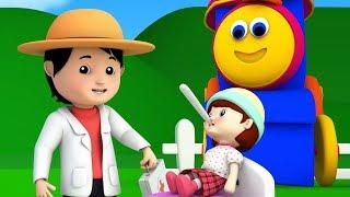 боб Мисс Полли имела Долли | боб поезд | русский мультфильмы | Miss Polly Rhymes | Kids Tv Russia
