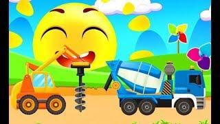 Мультики про Машинки Строительная Техника Транспорт Развивающие Мультфильмы Игры для Детей