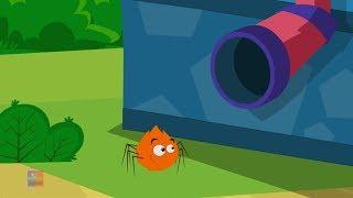 Incy Wincy Паук | Паук рифмы | Incy Wincy Spider | Preschool Russia | русский мультфильмы для детей