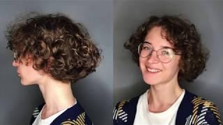 Описание как сделать стрижку на короткие вьющиеся волосы урок для парикмахера