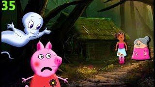 Мультики свинка на русском kids cartoons for children 35 ПРИВИДЕНИЕ ДРУГ Мультфильмы для детей