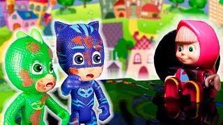 Маша и Медведь мультик с игрушками для детей новые серии. Мультфильмы 2018