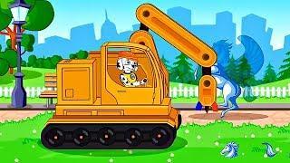 Развивающий Мультик про Машинки – Как Работают Машины Новые серии – Мультфильмы для детей
