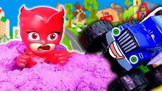 Мультики про машинки Вспыш – Крушила стал Кетбоем! Игрушки Герои в масках мультфильмы для детей