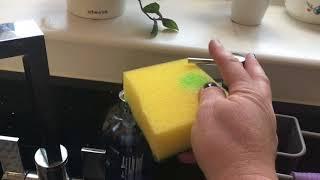 Про штучку на кухне и как сделать края газона красиво