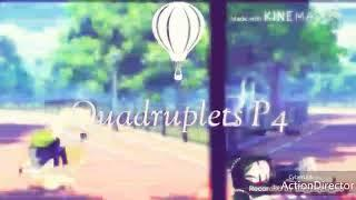 Hospitalized In First Day | Quadruplets P4 { BULLY STORY - Gacha Film }