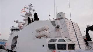 В Татарстане пограничный корабль проекта  Океан спустили на воду