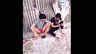 Китайский юмор. Китайские подростки прикалываются