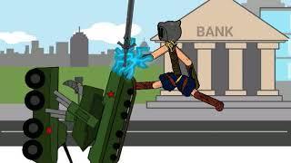 Мой мультфильм про нашествие роботов