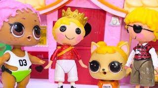 #Куклы ЛОЛ Смешные мультфильмы с куклами LOL Surprise #20 Разные Мультики для детей Baby Dolls