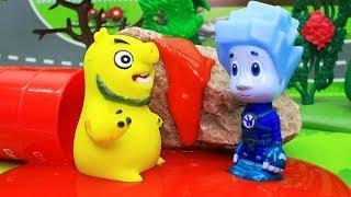 Фиксики новые серии. Мультики с игрушками – Домик Нолика. Развивающие мультфильмы для детей