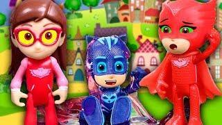 Мультик Герои в масках все серии. Развивающие мультфильмы с игрушками для детей