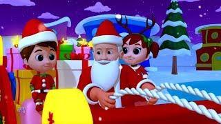 джингл колокола | русский мультфильмы для детей | рождества | Jingle Bells | Kids ABC TV Russia