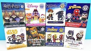 FUNKO Mystery Minis Mix! СЮРПРИЗЫ Five Nights At Freddy's,мультфильмы ДИСНЕЙ,МСТИТЕЛИ Marvel,FNAF