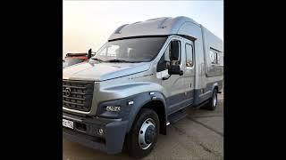 В Нижнем Новгороде сделали стильный фургон на базе ГАЗона NEXT