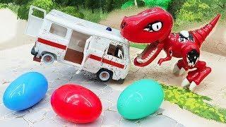 Видео для детей с игрушками - Украденное яйцо! Новые лучшие мультфильмы 2018 на русском для детей.