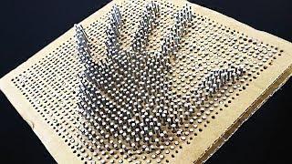 Как сделать 3D Пин Арт Игрушку / Игрушка Антистресс Своими Руками