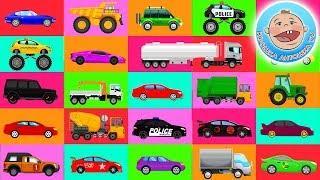 Мультики про машинки - Учись Играй Крошка Антошка.  Мультфильмы для детей