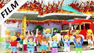 Playmobil Film Deutsch - SCHULE BRENNT AB! JULIAN KOMMT NIE IN DIE GRUNDSCHULE? Familie Vogel