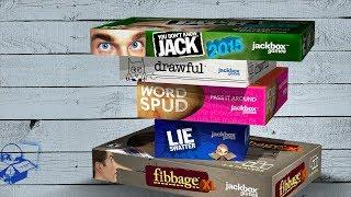 Чисто английский юмор. Jackbox Party Pack 1, 2, 3, 4 и 5.