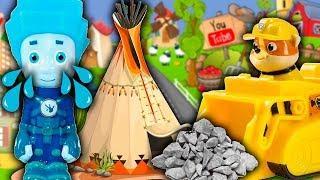 Мультики для детей – Дом мечты! Мультфильмы про машинки Щенячий Патруль игрушки