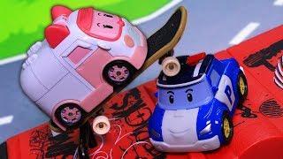 Мультфильмы с игрушками все серии! Робокар Поли и его друзья! Видео для детей