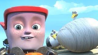 Мультфильмы для детей — Кораблики — Элаяс и каменное яйцо