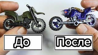 Как сделать супер мотоцикл из ЛЕГО