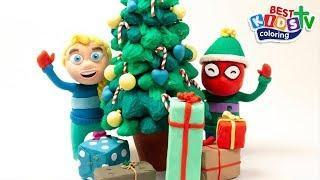 Супергерой - празднуют Рождество и Новый год - Мультфильмы для детей