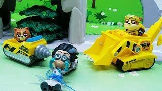 Видео для детей с игрушками Щенячий патруль - Кот спасатель /игрушечные мультфильмы 2018 на русском