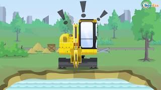 Мультики про МАШИНКИ для детей Развивающие мультфильмы Трактор и Грузовичок Сборник 4
