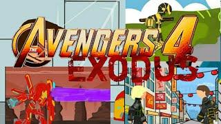 Мстители 4:Исход трейлер // рисуем мультфильмы 2